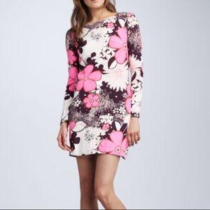 Diane Von Furstenberg Kivel Floral Print Dress